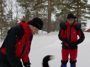 Björn och Anders på fjälltur i Norge