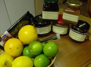 Totalt 10 kg marmelad med onsdagens laddning hjortronmarmelad